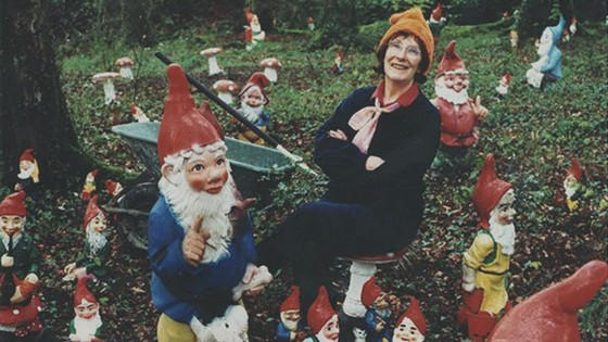 Ann Atkin another record holder for collecting gnomes turned her place into a garden gnome. LIFE AND GARDENING FOR SEASONALLY ADJUSTED: Defining Winter for the Hobbyists, Outdoor Enthusiasts and Thinkers