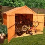 Bike Shed2 1 150x150 When to Choose a Pent Shed over an Apex Shed