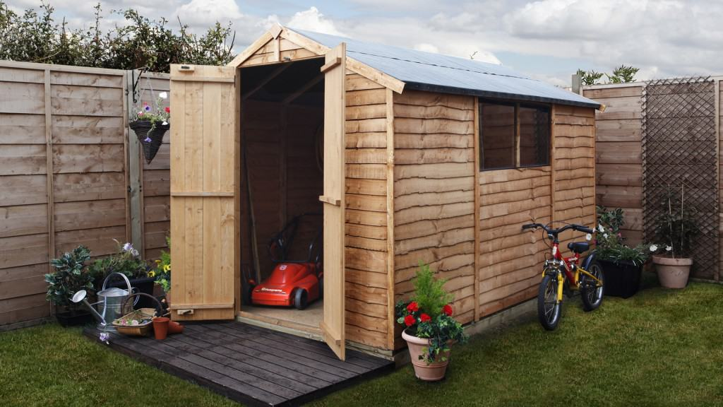 Billyoh 20 10x6 windowed shed 0B The New and Improved BillyOh 20 Range of Wooden Garden Sheds