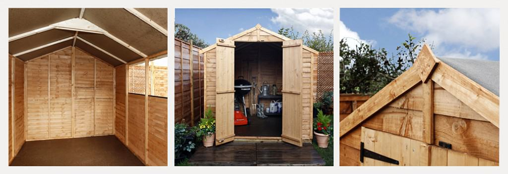 Billyoh 20 8x6 windowed shed 16 copy copy The New and Improved BillyOh 20 Range of Wooden Garden Sheds