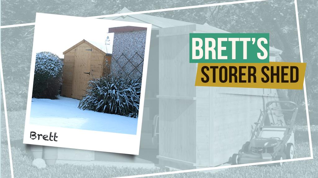 Brett's BillyOh Storer T&G Apex Shed