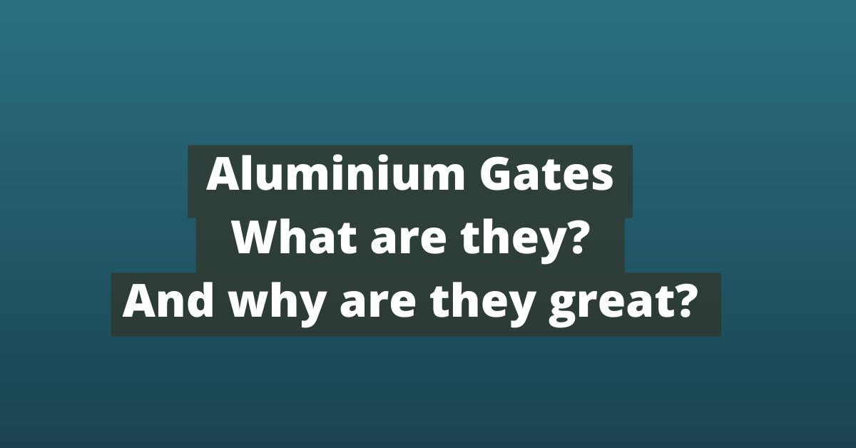 aluminium gate, metal driveway gates