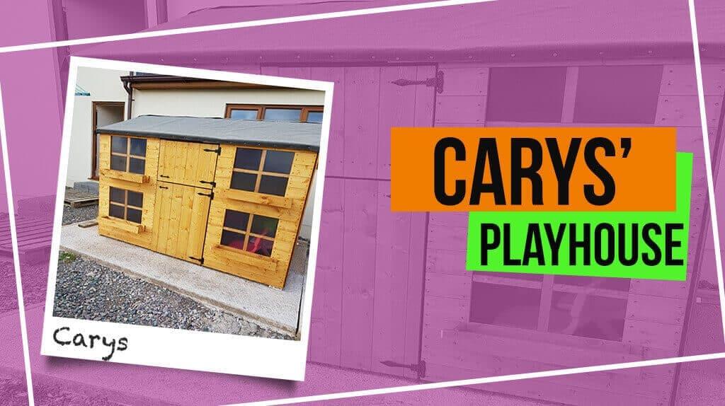 Carys' Gingerbread Max Playhouse