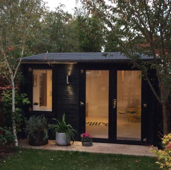 Catharine 39 s devon log cabin for Build your own garden office