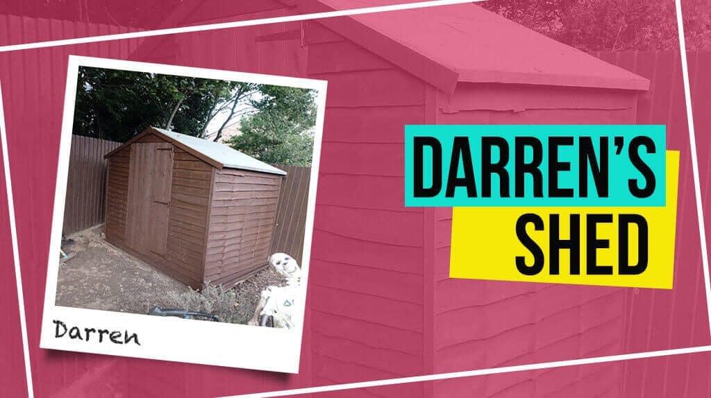 Darren's Storer Overlap Shed