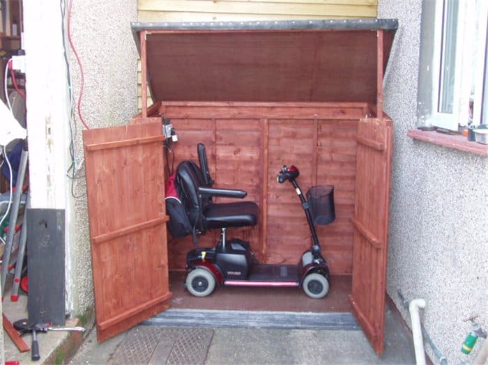 Does the perfect job Ernest Howells BillyOh Keep it Tidy XL Overlap Storage Unit Inc Floor 5 Surprising Bike Storage Solutions