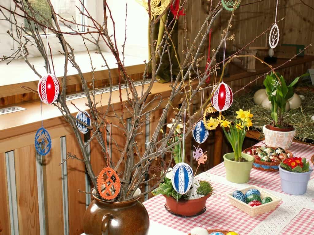 Easter eggs   crochet decoration Easter Decoration Ideas