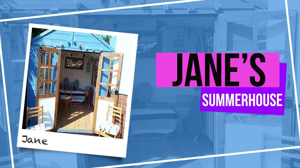 JANE'S BEACH HUT SUMMERHOUSE