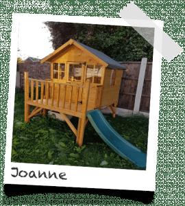 Joanne Heeley 270x300 Bunny Max Tower: Customer Stories Roundup