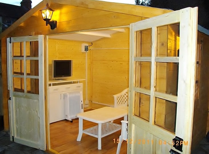 garden sheds inside beautiful shed interior design ideas photos interior design