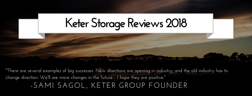 Keter Storage Reviews