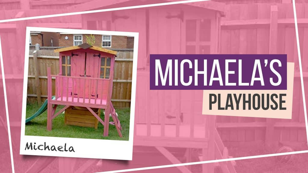 Michaela's Bunny Tower Playhouse