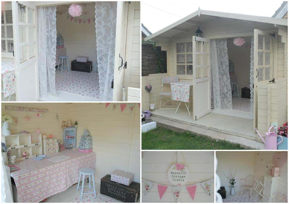 Nayworth Cottage Crafts1 12 Creative Ways To Use A Shed