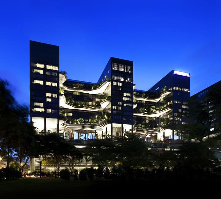 Parkroyal Singapore WOHA Architects 14 5 Amazing Vertical Gardens