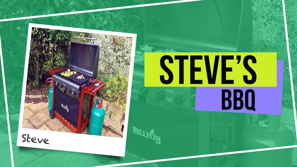 Steve's BillyOh Acorn Hooded Gas BBQ