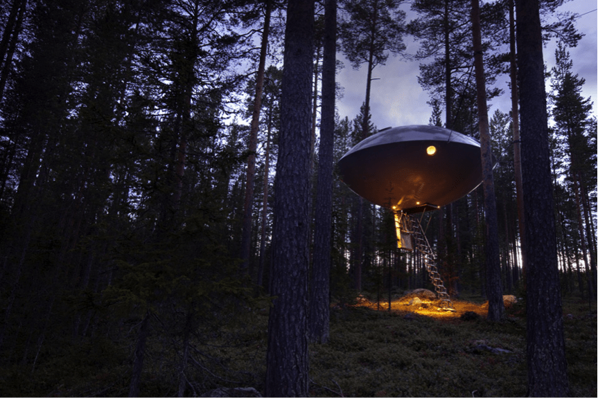 UFO Top Tree Houses – The world's 15 Most Amazing Tree Dwellings