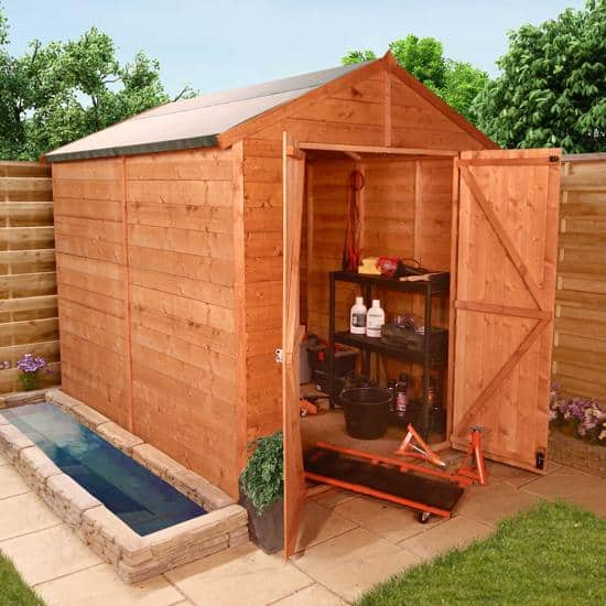 image result for garden sheds edinburgh
