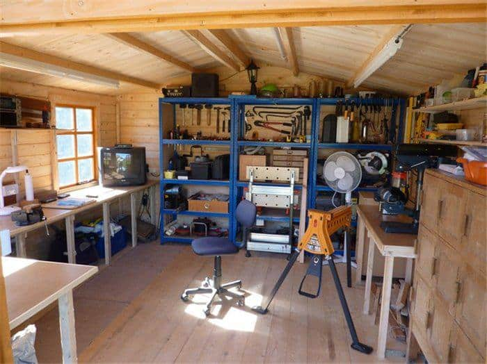 Shed of the year 2014 15 creative ways to use a shed for Garden shed workshop designs