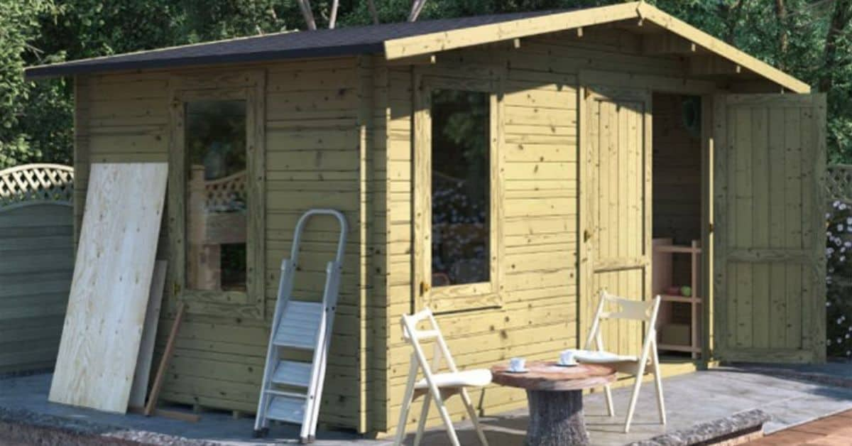 Benefits of pressure treatment for garden buildings
