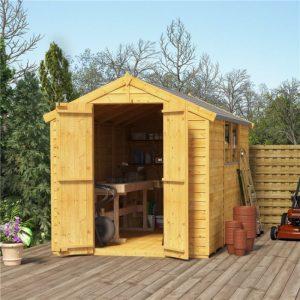 cheap bike storage shed