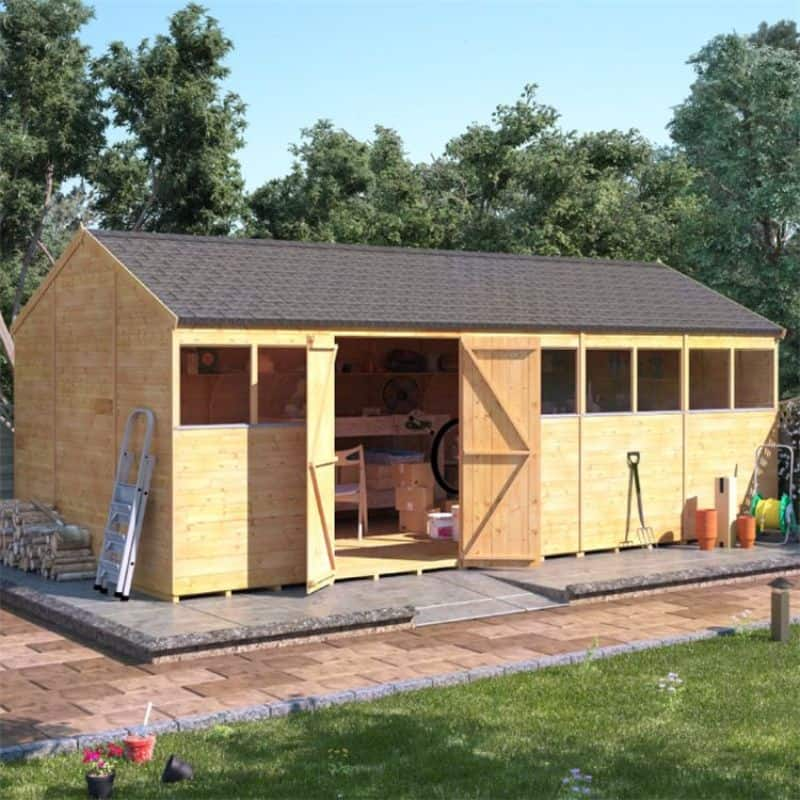 Best large wooden sheds - BillyOh Expert Tongue and Groove Reverse Apex Workshop
