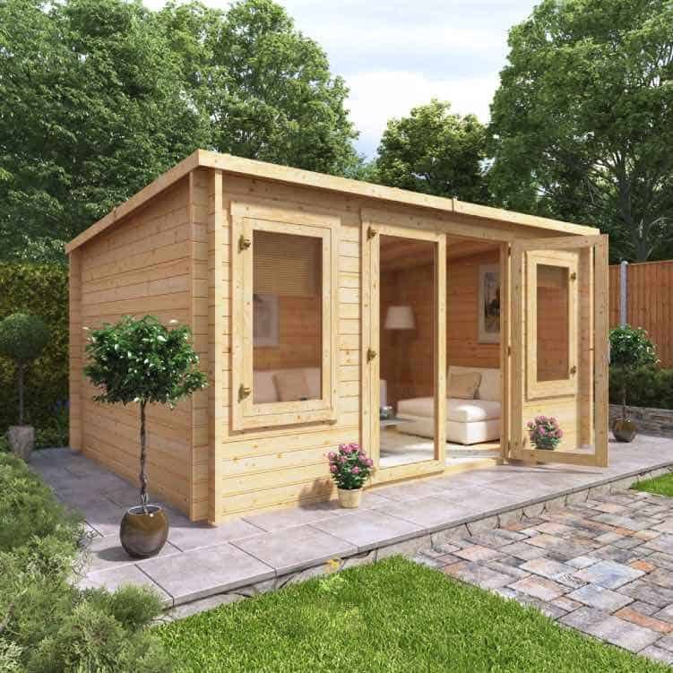 Our latest BillyOh log cabins - BillyOh Metro Log Cabin