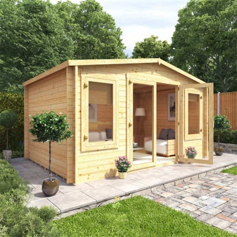 Our latest BillyOh log cabins - BillyOh Canton Log Cabin