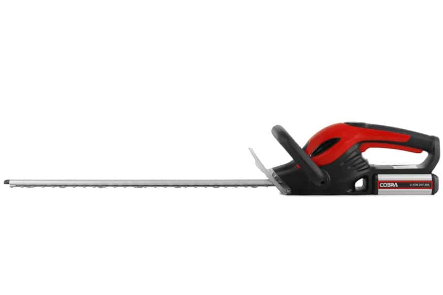 cobra h5024v cordless hedge trimmer 4 6 Best Hedge Trimmers You Can Buy