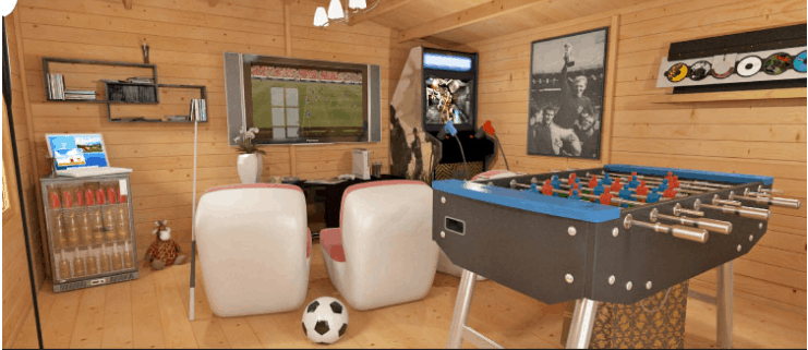 Log Cabin Games Room 7 Steps To Creating A Recreation Sanctuary