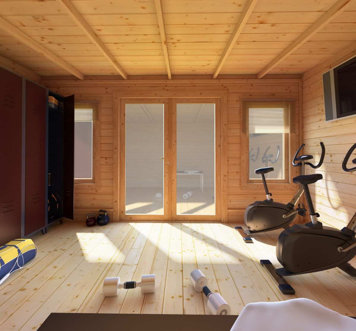 garden-gym-log-cabin-7-decorate-and-work-it-out