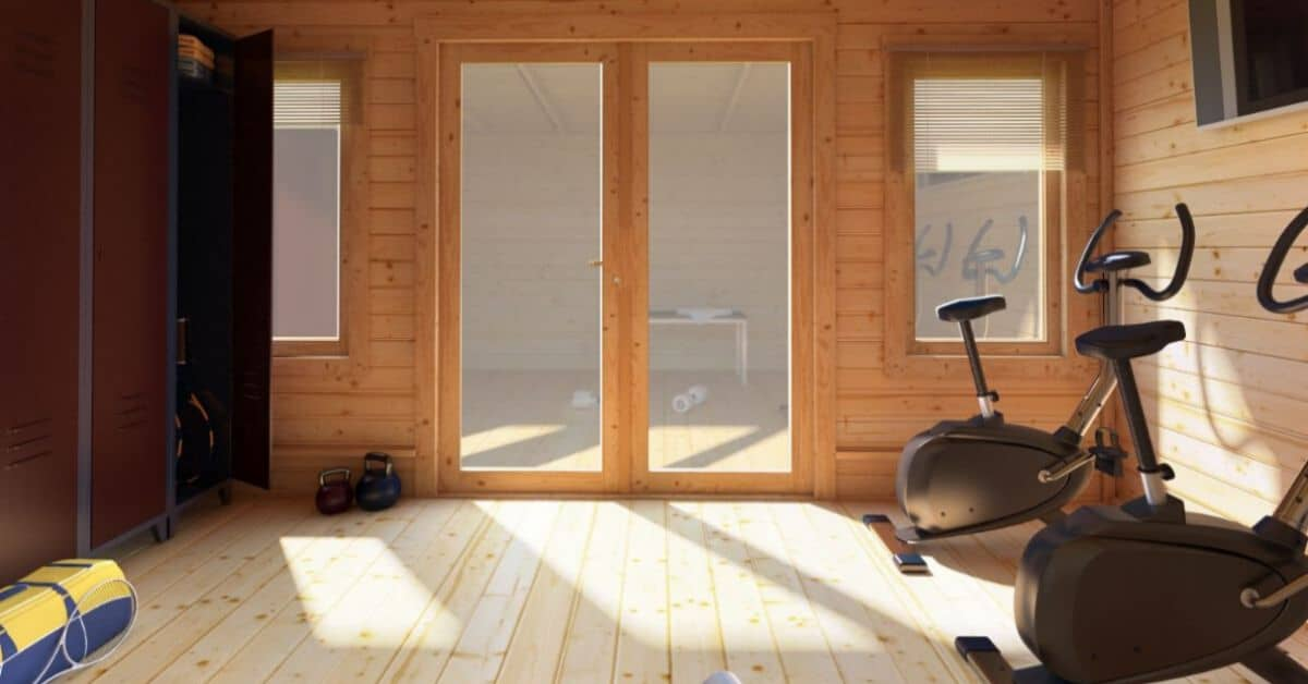 Why you need a log cabin gym