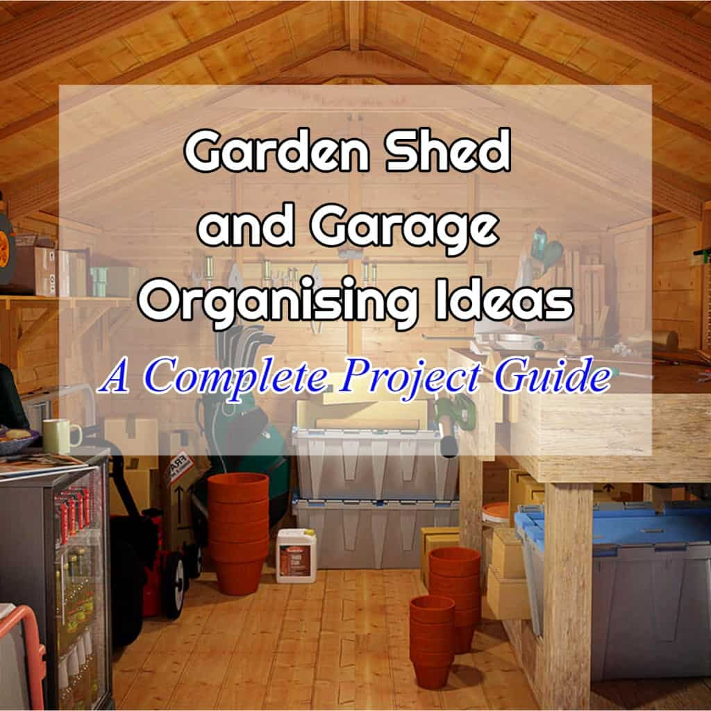 Garden shed and Garage Organising Banner Photo