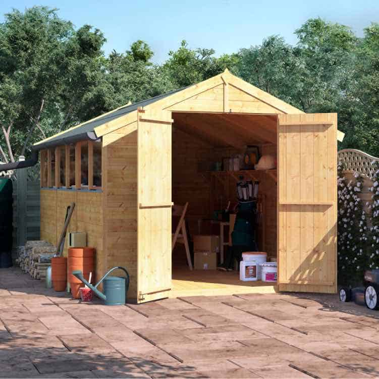 BillyOh Master Tongue and Groove Apex Shed ultimate guide to garden storage