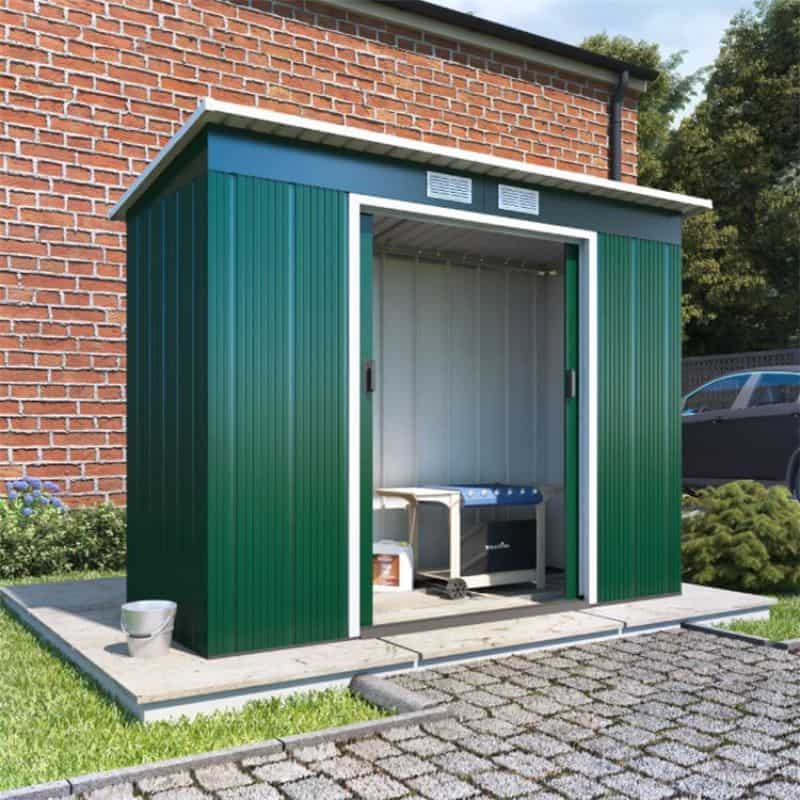 BillyOh Partner Eco Pent Roof Metal Shed