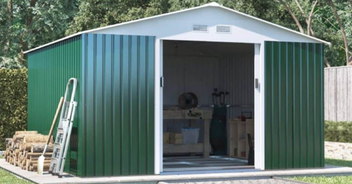 Best small metal sheds