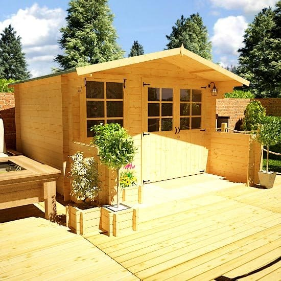 Choosing a Log Cabin Home Office Shed Blog Garden Buildings Direct