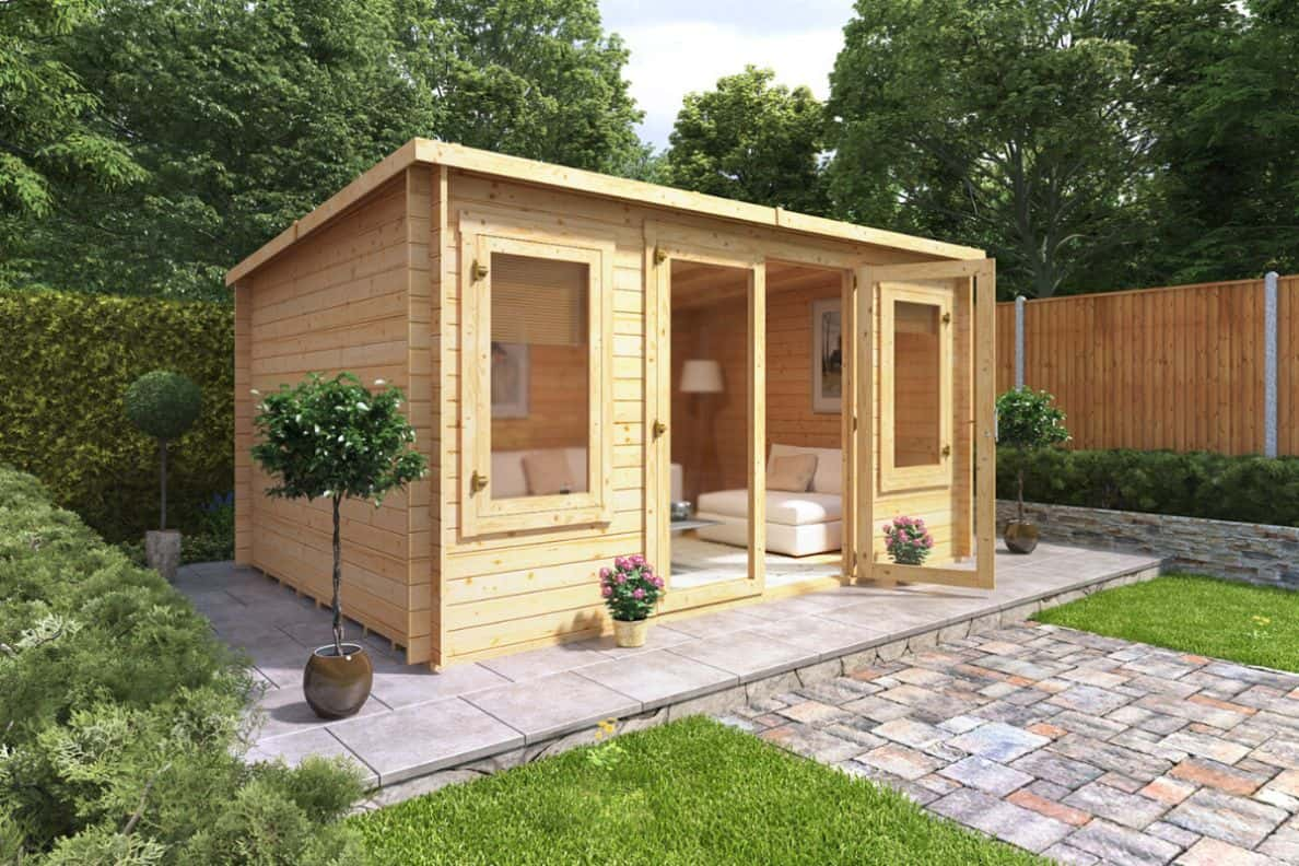 your log cabin should be placed onto a secure foundation
