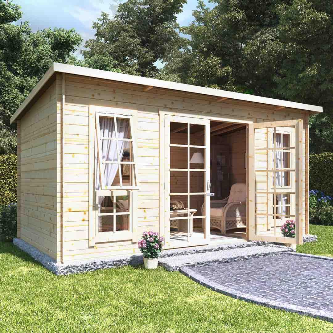 Log Cabin Summer Houses - The BillyOh Skinner Log Cabin Summerhouse