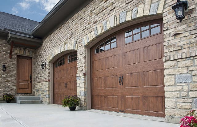 How Cheap Wooden Garage Doors Beautify Your House