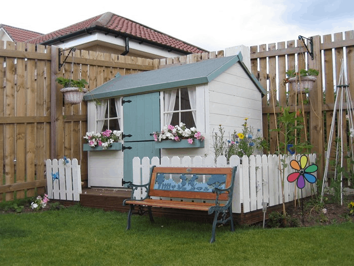 Playhouse decoration