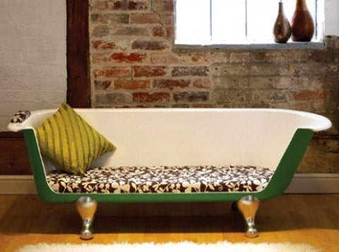 bath tub sofa