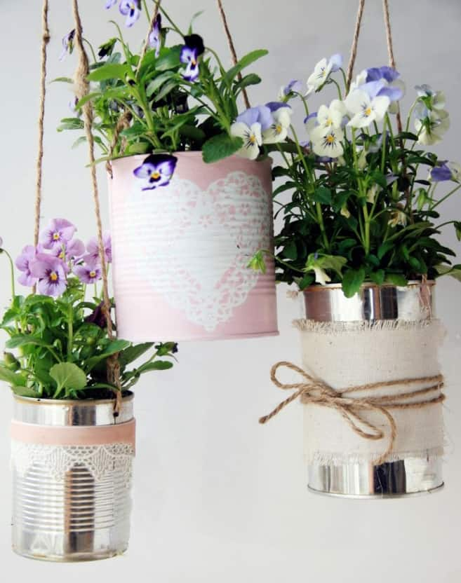 potsedit 10 Creative Recycled Hanging Basket Ideas