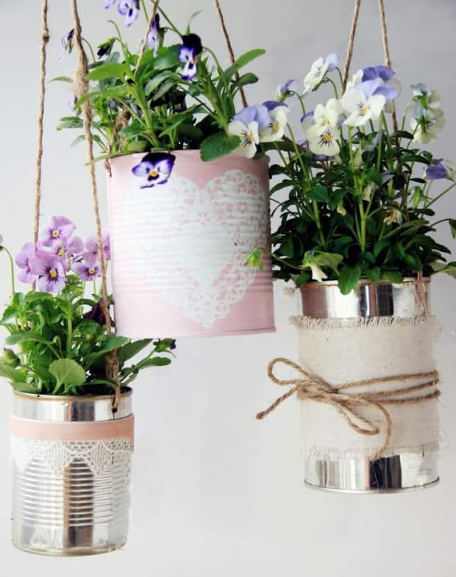 potsedit 10 Creative Recycled Hanging Basket Ideas