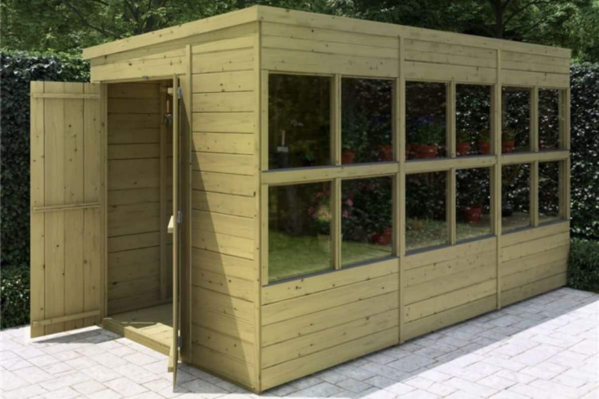 potting shed advantages