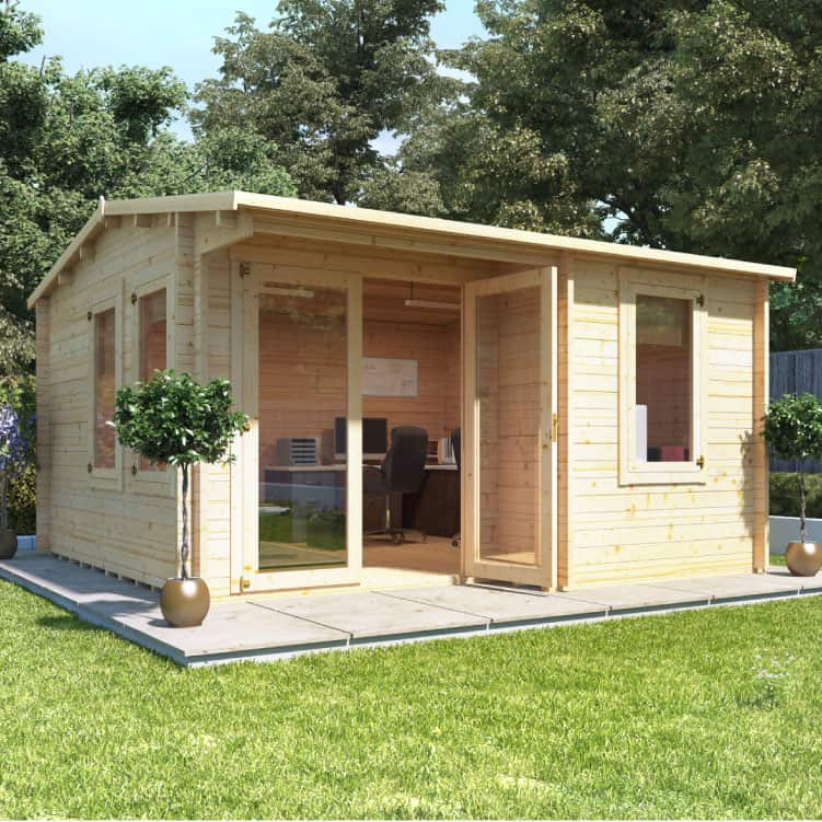 home office cabin. If You Need A Cabin Which Offers Little Extra Space, We Have Range Of Log Cabins Make Perfect Home Office For Your Garden.