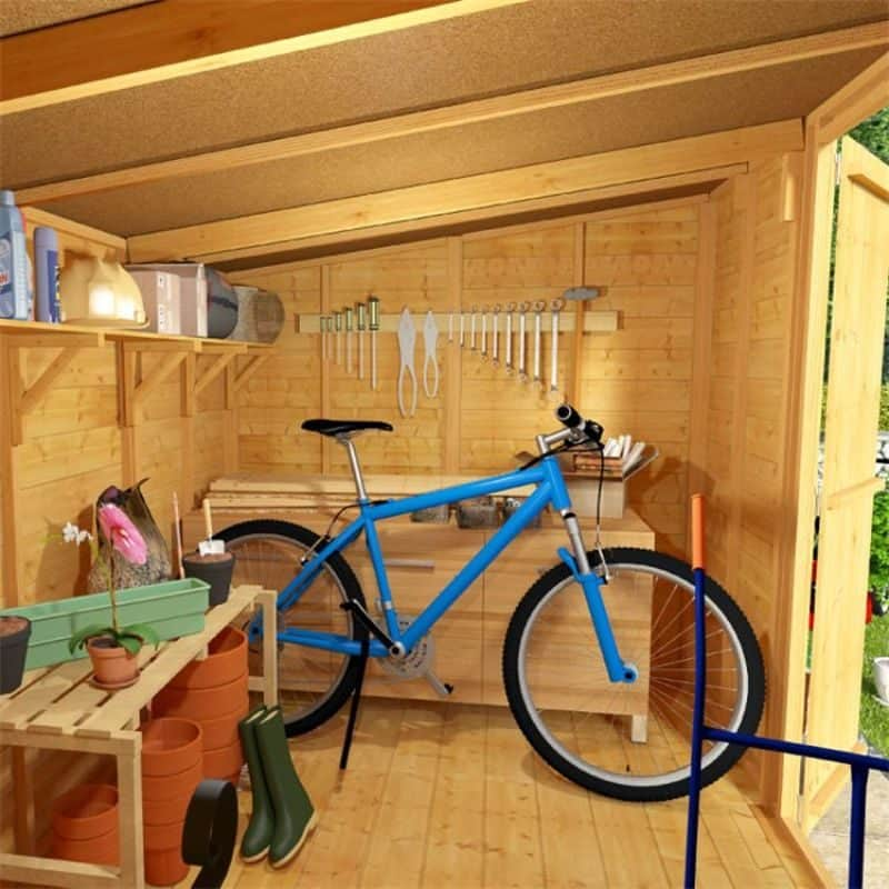 transform your shed by decorating it