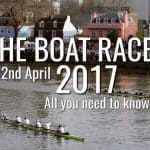 Boat Race 2017 – All You Need To Know