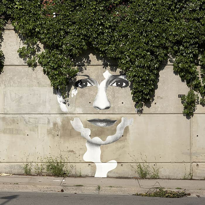 street art interacts with nature 30 19 Jaw Dropping Examples of Garden Street Art