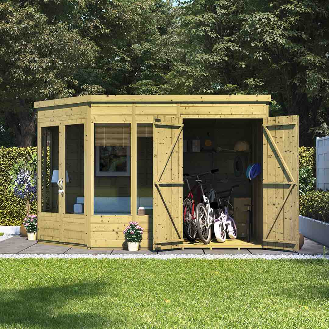 Summerhouses - the ultimate guide - shed summerhouse