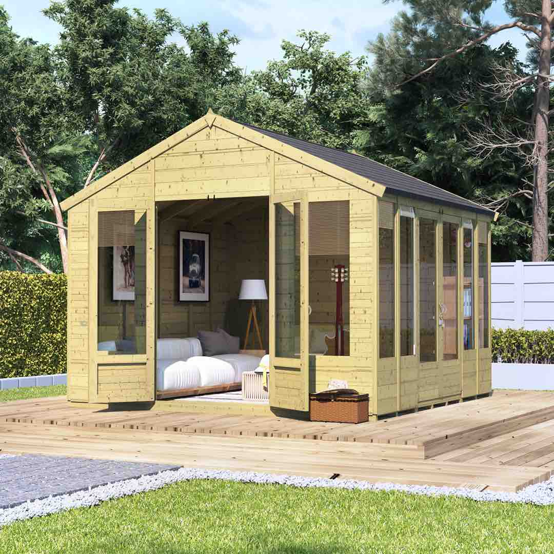 summerhouses - the ultimate guide - contemporary summerhouse